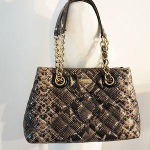 Kate Spade Maryanne Gold Coast Snake Skin Handbag